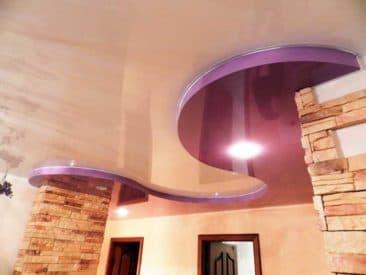 многоуровневый натяжной потолок 3