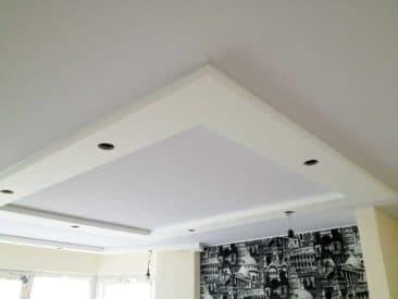 потолок без нагрева