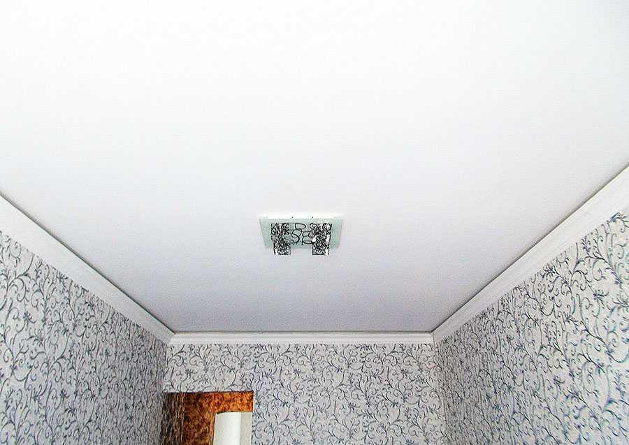 натяжной потолок без нагрева