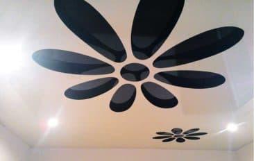 натяжной потолок 3d резной