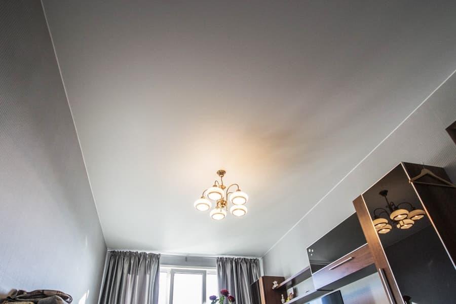 Сатиновый натяжной потолок цена