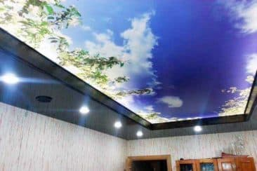 потолок с рисунком 3д