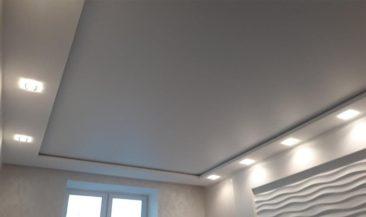 Фолиен натяжной потолок
