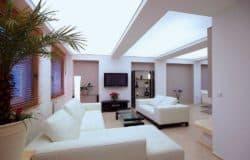 светящийся натяжной потолок3